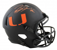 Ray Lewis Signed Miami Hurricanes Full-Size Eclipse Alternate Speed Helmet (Beckett COA) at PristineAuction.com
