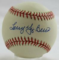 Larry Yogi Berra Signed OAL Baseball (PSA COA & LTD Hologram) at PristineAuction.com
