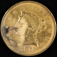 1873 $2.50 Liberty Head Quarter Eagle Gold Coin at PristineAuction.com