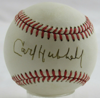 Carl Hubbell Signed ONL Baseball (PSA COA) at PristineAuction.com