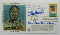 Mickey Mantle, Stan Musial & Duke Snider Signed 1982 Envelope (JSA LOA) at PristineAuction.com
