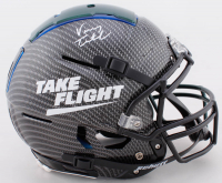 Vinny Testaverde Signed Full-Size Authentic On-Field Hydro-Dipped F7 Helmet (JSA COA) at PristineAuction.com
