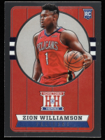 Zion Williamson 2019-20 Panini Chronicles Silver #552 Hometown Heroes Optic at PristineAuction.com