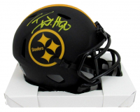T. J. Watt Signed Steelers Eclipse Alternate Speed Mini Helmet (Beckett COA) at PristineAuction.com