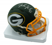 John Kuhn Signed Packers AMP Alternate Speed Mini Helmet (JSA COA) at PristineAuction.com