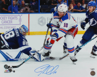 J. T. Miller Signed Rangers 16x20 Photo (Steiner Hologram & Fanatics Hologram) at PristineAuction.com