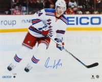 Oscar Lindberg Signed Rangers 16x20 Photo (Steiner Hologram & Fanatics Hologram) at PristineAuction.com