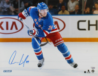Oscar Lindberg Signed Rangers 16x20 Photo (Steiner Hologram & Fanatics Hologram) at PristineAuction.com