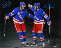 Brady Skjei & Tony DeAngelo Signed Rangers 16x20 Photo (Fanatics Hologram) at PristineAuction.com