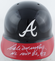 Dale Murphy Signed Braves LE Full-Size Authentic Batting Helmet With (5) Career Stat Inscriptions (Radtke Hologram) at PristineAuction.com