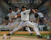 "Joba Chamberlain Signed Yankees 16x20 Photo Inscribed ""Joba Time"" (Steiner COA, MLB Hologram & Fanatics Hologram) at PristineAuction.com"