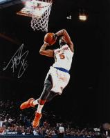Tim Hardaway Jr. Signed Knicks 16x20 Photo (Steiner COA & Fanatics Hologram) at PristineAuction.com