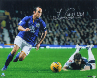 "Landon Donovan Signed Team USA 16x20 Photo Inscribed ""USA"" (UDA COA) at PristineAuction.com"