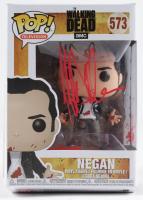 "Jeffrey Dean Morgan Signed ""The Walking Dead"" #573 Negan Funko Pop! Vinyl Figure (Radtke COA) at PristineAuction.com"