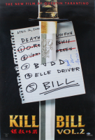 "Michael Madsen Signed ""Kill Bill: Volume 2"" 27x40 Movie Poster Inscribed ""Budd"" (Beckett COA) at PristineAuction.com"