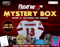 "Press Pass Collectibles 2021 ""Friday the 13th"" Ari Lehman Mystery Box – Series 4 at PristineAuction.com"
