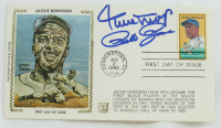Willie Mays & Pete Rose Signed 1982 Silk Cachet First Day Cover Envelope (JSA COA) at PristineAuction.com