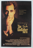"Al Pacino Signed ""The GodFather Part III"" 26x40 Movie Poster (Beckett COA) at PristineAuction.com"