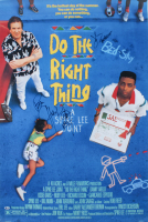 """John Tuturro & Chuck D Signed """"Do The Right Thing"""" 27x40 Movie Poster (Beckett COA) at PristineAuction.com"""