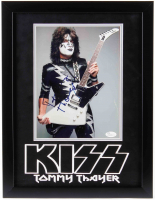 Tommy Thayer Signed KISS 13.5x17.5 Custom Framed Photo Display (JSA COA) at PristineAuction.com