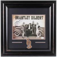 Brantley Gilbert Signed 18x18 Custom Framed Photo Display (JSA COA) at PristineAuction.com