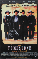 "Val Kilmer Signed ""Tombstone"" 27x40 Movie Poster Inscribed ""I'm Your Huckleberry!"" & ""Doc""(Beckett COA) at PristineAuction.com"