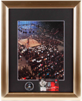 """Muhammad Ali"" 13x16 Custom Framed Photo Display with Half Dollar Commemorative Muhammad Ali Coin at PristineAuction.com"