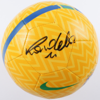 Ronaldo Signed CBF Brasil Logo Soccer Ball (Beckett COA) at PristineAuction.com