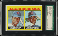 Rod Carew RC / Hank Allen1967 Topps #569 Rookie Stars RC DP (SGC 3) at PristineAuction.com