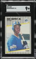 Ken Griffey Jr. 1989 Fleer #548 RC (SGC 9) at PristineAuction.com