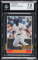 Rickey Henderson 1985 Donruss Highlights #42 (BGS 7.5) at PristineAuction.com
