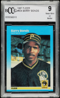 Barry Bonds 1987 Fleer #604 RC (BCCG 9) at PristineAuction.com