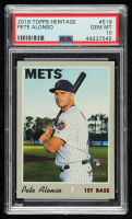 Pete Alonso 2019 Topps Heritage #519 RC (PSA 10) at PristineAuction.com