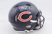 Mitchell Trubisky Signed Bears Full-Size Authentic On-Field Speed Helmet (Fanatics Hologram) at PristineAuction.com