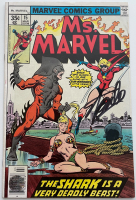 "Stan Lee Signed 1977 ""Ms. Marvel"" Issue #15 Marvel Comic Book (Lee COA) at PristineAuction.com"