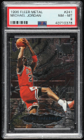 Michael Jordan 1996-97 Metal #241 (PSA 8) at PristineAuction.com