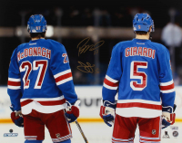 Ryan McDonagh & Daniel Girardi Signed Rangers 16x20 Photo (Steiner Hologram & Fanatics Hologram) at PristineAuction.com
