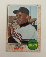 Willie Mays 1968 Topps #50 at PristineAuction.com