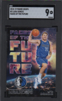 Luka Doncic 2018-19 Hoops Faces of the Future #3 RC (SGC 9) at PristineAuction.com