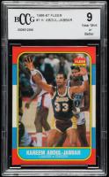 Kareem Abdul-Jabbar 1986-87 Fleer #1 (BCCG 9) at PristineAuction.com
