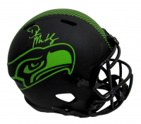 DK Metcalf Signed Seahawks Full-Size Eclipse Alternate Speed Helmet (Mill Creek Sports COA) at PristineAuction.com