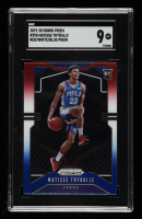 Matisse Thybulle 2019-20 Panini Prizm Prizms Red White and Blue #290 (SGC 9) at PristineAuction.com