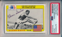 Glenn Davis Signed 1983 Topps History's Greatest Olympians #97 (PSA Encapsulated) at PristineAuction.com