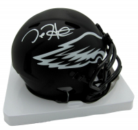 Jalen Hurts Signed Eagles Eclipse Alternate Speed Mini Helmet (JSA COA) at PristineAuction.com