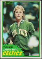 Larry Bird 1981-82 Topps #4 at PristineAuction.com