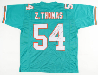 Zach Thomas Signed Jersey (JSA COA) at PristineAuction.com