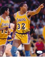 Magic Johnson Signed Lakers 8x10 Photo (JSA COA) at PristineAuction.com