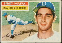 Sandy Koufax 1956 Topps #79 at PristineAuction.com