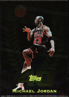 Michael Jordan 1997-98 Topps Topps 40 #T5 at PristineAuction.com