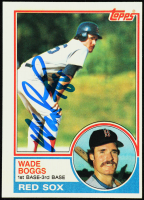 Wade Boggs 1983 Topps #498 RC (JSA COA) at PristineAuction.com